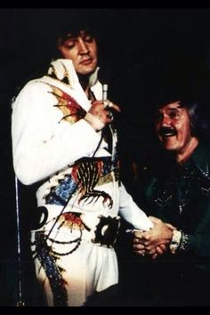 Elvis and J.D. Summer!!! - Great Friends Who Loved, Respected and Admired Each Other!! Beautiful Friendship
