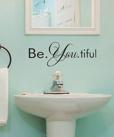 Look what I found on #zulily! 'Be You' Wall Decal by Wallquotes.com by Belvedere Designs #zulilyfinds
