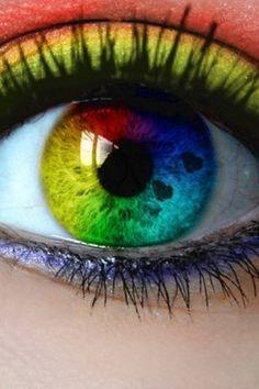 wat is de kleur van het oog?