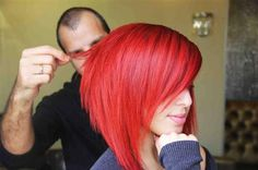 red and I love the cut