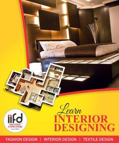 Interior Design Courses is higher income and higher aspirations