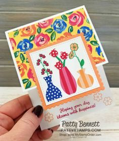 Vase, Dance Art, Coordinating Colors, Most Beautiful Pictures, Stampin Up, About Me Blog, Bloom, Sketch, Flowers
