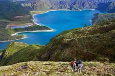 Hiking trails by difficulty in Sao Miguel