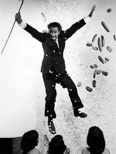 Salvador Dali by Philippe Halsman