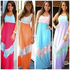 Maxi Dresses for honeymoon