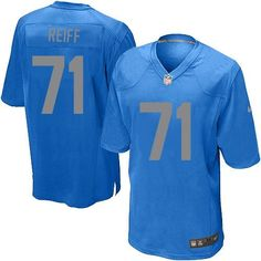 Youth Nike Detroit Lions  71 Riley Reiff Limited Blue Alternate NFL Jersey  Sale Giants Sterling 0cdde50fa