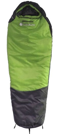Lucky Bums Youth 0-Degree Serenity II Sleeping Bag -- Remarkable product available now. : Camping sleeping bags