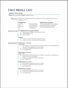 google docs resume template 2015 httpwwwjobresumewebsite - Google Docs Resume Templates