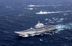 #world #news  China says its aircraft carrier leaves Taiwan Strait