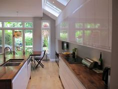 single storey extension ideas for house Kitchen Diner Extension, House, Victorian Homes, House Siding, House Styles, New Homes, House Interior, 1930s House, Kitchen Extension