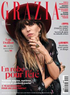 mode tendance fashion people celebrite star look vetements attitude glamour classe V Magazine, Grazia Magazine, Magazine Covers, Vogue Spain, Vogue Korea, Lou Doillon, Charlize Theron, Vanity Fair, Marilyn Monroe