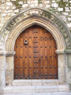 Door in Trujillo, Spain