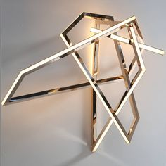 """Niamh Barry, """"Gesture"""" Wall-mounted Light Sculpture, IRE, 2014 