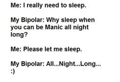 19 Funny Memes For People Who Have Been Manic Bipolar Humor, Bipolar Disorder, Chronic Illness, Mental Illness, When You Can, Knowing You, List Of Memes, Borderline Personality Disorder, Laugh At Yourself