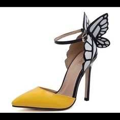 BRAND NEW butterfly pumps 4 inch heels, as seen on Nina Dobrev from Vampire Diaries. Set price/no trades. Nordstrom Shoes Heels