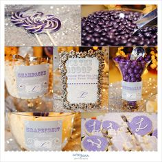 Purple Candy Buffet