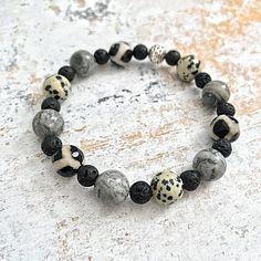 Essential Oil Diffuser Bracelet Lava Bead Aromatherapy