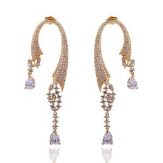 Find More Drop Earrings Information about New Arrivals Luxury Women Drop Earrings AAA Quality Cubic Zircon 288 Pieces Lead Free Brass Non Allergy 18K Gold Plated No Lead,High Quality earring bag,China earring distributors Suppliers, Cheap earrings double from Boutique DC1989 (One Stop Purchase) on Aliexpress.com