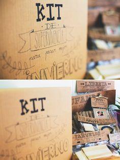 Os presento mi kit de emergencia para pasar mejor el invierno. ¿Hay algo mejor que unos pequeños regalos para sacarte una sonrisa? Y lo mej...