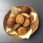 bucin_kruh Lchf, Almond, Stuffed Mushrooms, Muffin, Good Food, Paleo, Healthy Recipes, Bread, Vegetables
