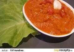 Paprikový krém - ajvar - mé sestry recept - TopRecepty.cz 20 Min, Caviar, Pesto, Chili, Salsa, Spices, Soup, Fish, Ethnic Recipes