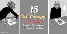 Art therapy activities simple A bunch of art therapy exercises and activities inspired by Russian art therapist and psychologist Victoria Nazarevich. Art Therapy Projects, Art Therapy Activities, Counseling Activities, Therapy Tools, Therapy Ideas, Art Therapy Benefits, What Is Art Therapy, Art Therapy Directives, Improve Communication Skills