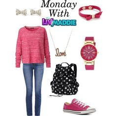 Monday With Liv And Maddie/Full Week In The Description