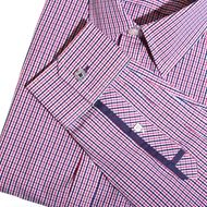 Jeremy Argyle NYC - Navy and Bright Pink Gingham