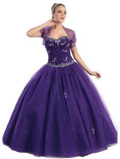Ball Gown Sweetheart Taffeta Floor-length Sleeveless Crystal Detailing Quinceanera Dress at sweetquinceaneradress.com