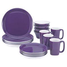 Found it at Wayfair - 16 Piece Stoneware Set in Purple