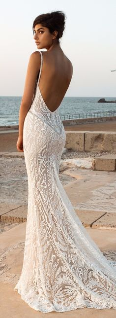 Wedding Gown Wedding Dress - GALA Collection NO. III by Galia Lahav - Boho brides, rejoice and get ready for some impossibly beautiful wedding dresses! GALA by Galia Lahav bridal Collection has it all! Lace Beach Wedding Dress, Dream Wedding Dresses, Mermaid Wedding, Bridal Dresses, Lace Dress, Gown Wedding, Wedding Reception, Wedding Outfits, Budget Wedding