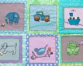 Set of 6 stitch patterns with the corresponding 12 handmade and hand painted Incomparable buttons. Tractor, Boat, Dog, Bird and Frog. Handmade Paint, Handmade Gifts, Stitch Patterns, Etsy Seller, Elephant, Kids Rugs, Hand Painted, Buttons, Etsy Shop