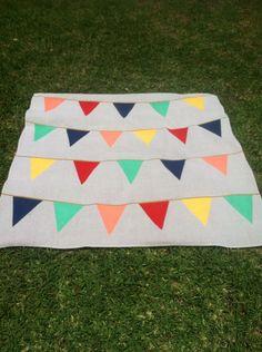 Custom Made, Hand Painted, Waterproof Picnic Blanket