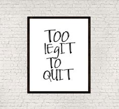 Inspirational quoteWall hangingTypography by mixarthouse on Etsy
