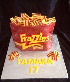 Bag of fazzles cake