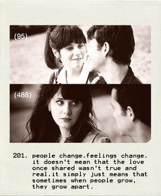 """""""People change, feelings change..."""""""