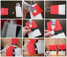 Pokemon Party Ideas – Gotta Catch 'Em All Pokeball Pokemon Party Favor Bags – Are you a fan of Pokemon Go? Take a look at these Pokemon Party Ideas for the biggest fan in your home on Frugal Coupon Living…. gotta catch them all! Pokemon Themed Party, Pokemon Birthday, Pokemon Party Bags, Easy Pokemon, Pokemon Pokemon, Pokemon Craft, Pokemon Gifts, Festa Pokemon Go, 9th Birthday Parties