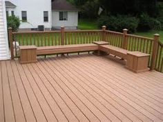 deck benches - Bing images