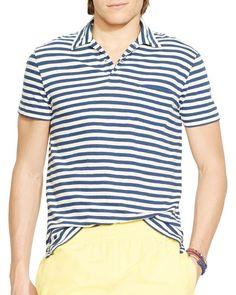 Polo Ralph Lauren Stripe Jersey Polo Shirt - Regular Fit