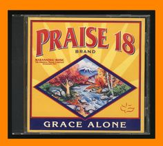 Praise 18 - Grace Alone CD 1998 Maranatha! Music VG OOP Praise/Worship