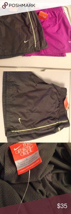 Bundle Nike shorts Bundle nwt Nike women's shorts with inside liner! Size large! Thanks I'm a smoker Shorts
