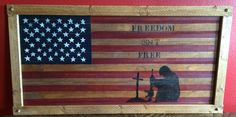 Freedom Isn't Free by countrycraftsbydebbi on Etsy