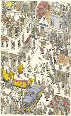 the amazing art of Mattias Adolfsson