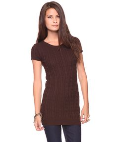 cheap! cable sweater dress