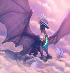 Leundra by Kezrek on DeviantArt my real dragon. if it wasn't this one it would be the gold one. But in real life i think she would have a nicer face instead of looking angry/evil. Mythical Creatures Art, Mythological Creatures, Magical Creatures, Fantasy Creatures, Dragon Medieval, Pink Dragon, Beautiful Dragon, Cool Dragons, Dragon Artwork