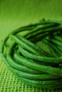 """Sitaw"" -- by Joey via Flickr; sitaw is an herbaceous climbing plant grown for its strikingly long edible pods -- what we might call extra-long green beans."