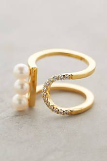 Pearl Eclipse Ring - http://anthropologie.com