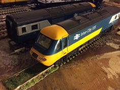 IC125 in BR original livery by Hornby, bought as a non-runner for a tenner. (Just needed a service)  Acquired 06/09/15 @ Medway MRE