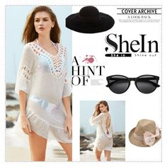 """""""shein"""" by melisa-j ❤ liked on Polyvore featuring Eugenia Kim"""