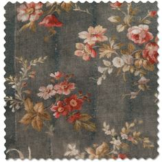 Rachel Ashwell Prairie Rose fabric -- would love this inside shelves or as a statement wallpaper